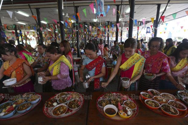 Mon's Songkran tradition