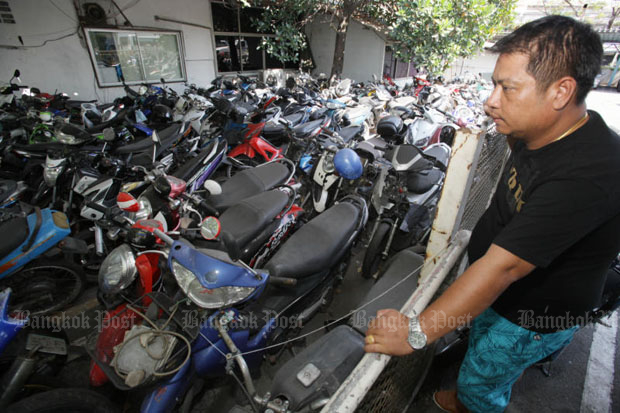 Vehicles seized from Songkran drink drivers soared