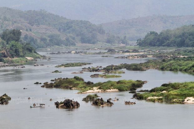 Mekong survey draws protests