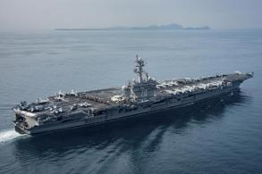 US aircraft carrier not yet near North Korea