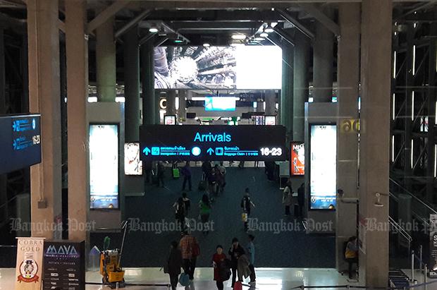 Suvarnabhumi airport traffic up during Songkran