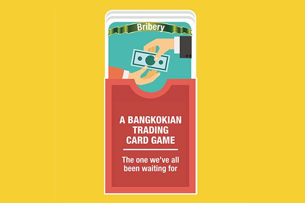 A Bangkokian trading card game
