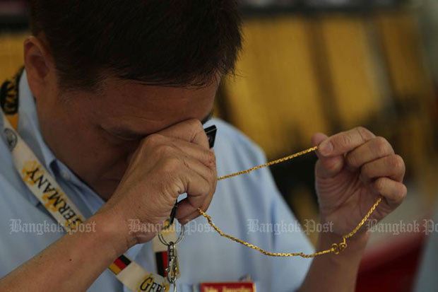Gold prices unchanged at B20,850