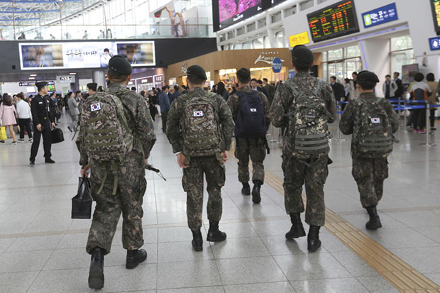 S.Korean army accused of targeting gay soldiers