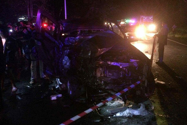 Two Britons killed in Surat Thani crash