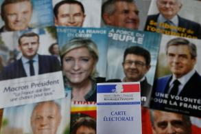 French voters face tough choices in landmark election