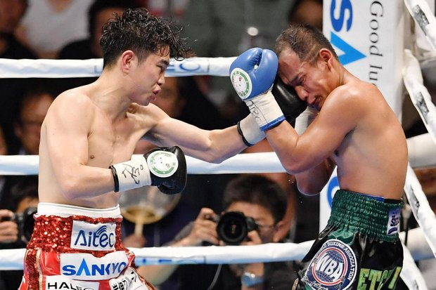 Boxing: Noknoi beaten in Ioka's record-matching title win
