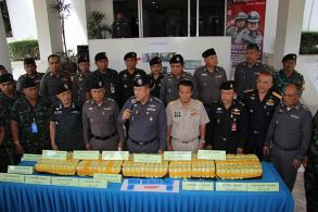 Six caught with big meth shipment in Chumphon