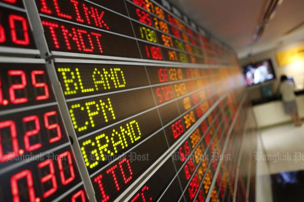 SET closes down 5.36 to 1,564.66
