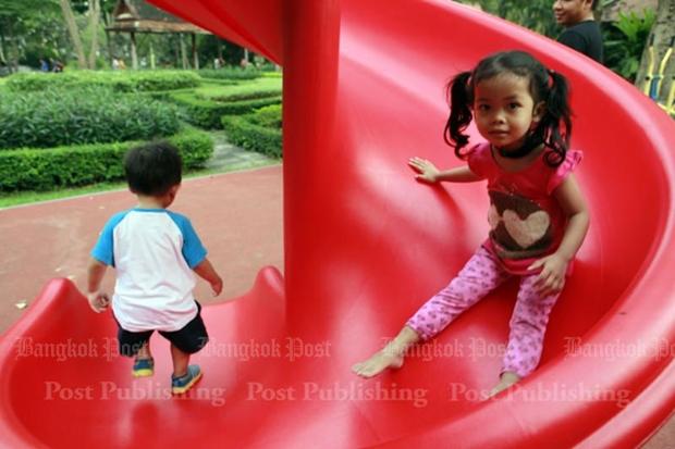 Far too little exercise for most Thai children