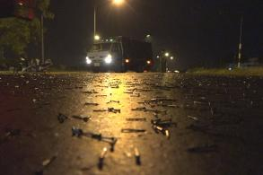 Thousands of nails cause havoc on Highway 347