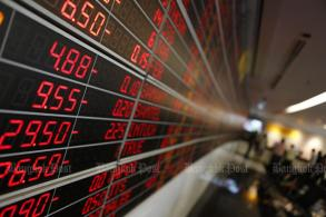 SET falls 5.02 to 1,559.64 at midday
