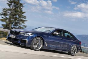BMW M550i xDrive (2017) review