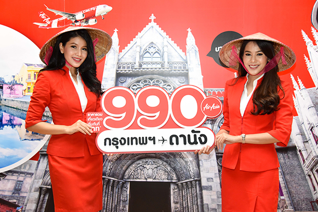 Thai AirAsia adds Danang to timetable