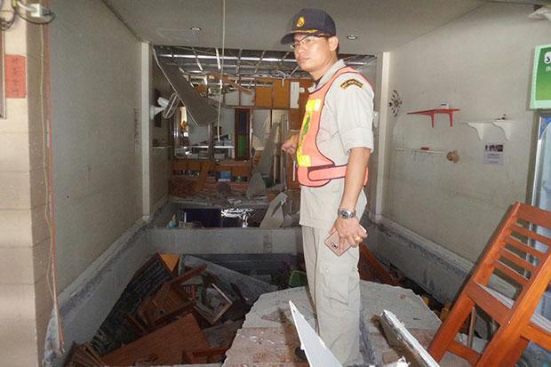 Six injured in gas explosion at restaurant | Bangkok Post: news