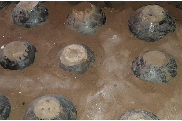 Ancient jars found at Ayutthaya's Wat Daeng