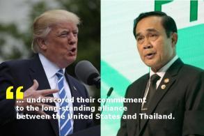 Trump's call signals closer ties