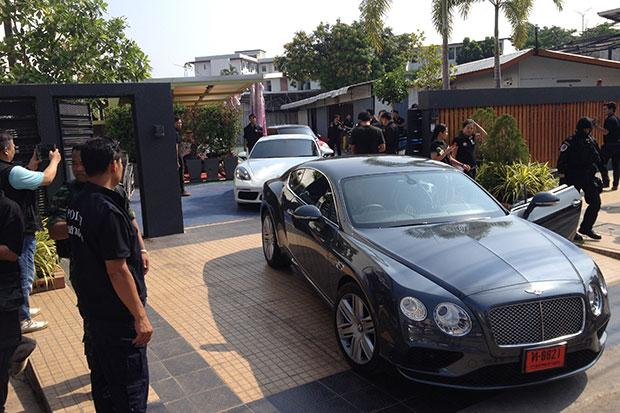 Luxury Cars Land Seized As Drug Cartel Unravels Bangkok