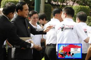 Prayut promises forum on media bill