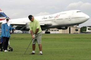 Air force to boost golf course security