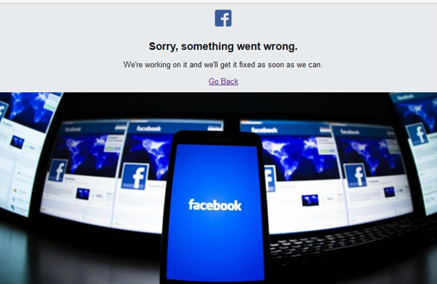 Facebook goes down briefly, not just Thailand (updated)