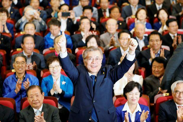 Liberal candidate Moon Jae-in wins South Korean presidential election
