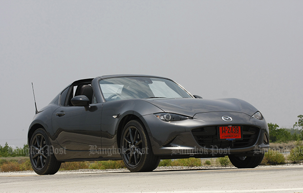 Mazda MX-5 RF (2017) review