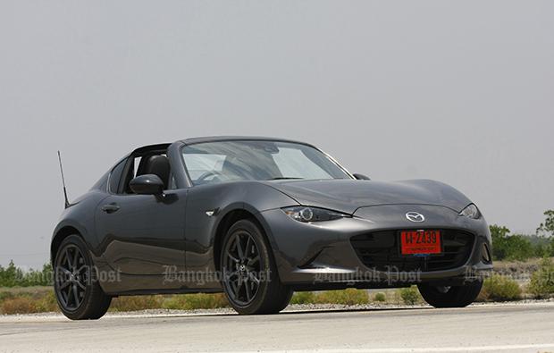 Mazda MX-5 RF (2017) review