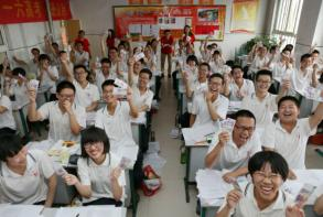 China warns kids against classroom graft