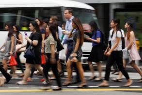 Singapore hits 21-month peak, leads SE Asia stocks