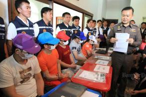Taiwanese phone scam gang arrested in Bang Na