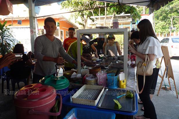 10 baht for breakfast