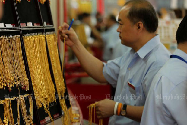 Gold prices up B100 to B20,300