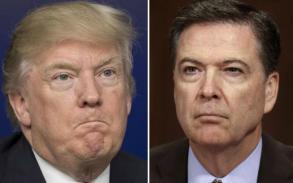 Trump said to ask Comey to drop FBI probe