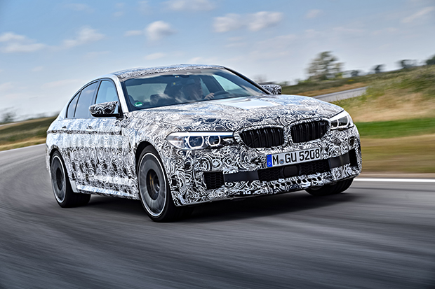 New 2018 BMW M5 on the Way