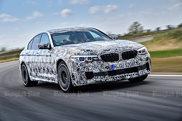 2018 BMW M5 revealed in prototype form