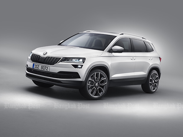 New Skoda Karoq SUV revealed