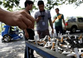 Duterte orders strict public smoking ban in Philippines