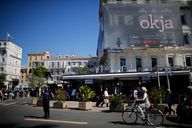 Netflix film brings thrill, controversy to Cannes
