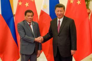 Duterte: China's Xi threatened war over sea dispute