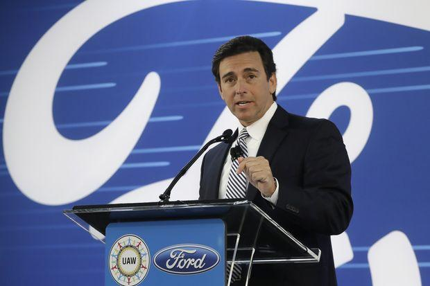 Ford Motor to replace chief executive Mark Fields