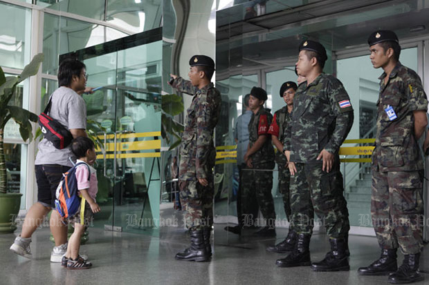 Security tightened at army hospital following blast