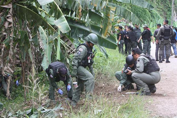 Two rangers killed from ambush, guns stolen