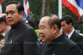 PM admits Prawit has fallen ill