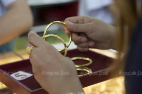Gold prices down B100 to B20,450