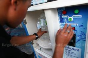 Dispensers fail water tests