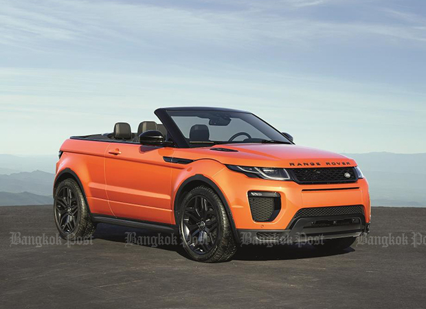 Range Rover Evoque Convertible launched in Thailand