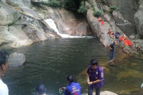 Novice drowns at waterfall in Nakhon Si Thammarat