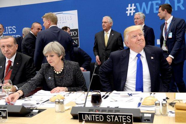 Trump shocks, scolds Nato, turns plan aside