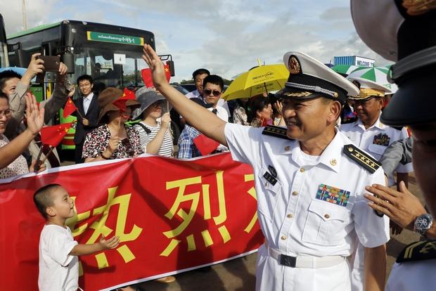 China gains upper hand in Myanmar